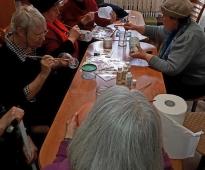 Creative workshop for senior citizens, 17.03.