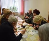 Creative workshop for seniors, 19.04.