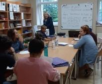 Latviešu valodas apguves mācību kursu noslēdz 11.grupa