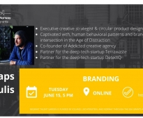 On 15th of june a lecture on branding will be held
